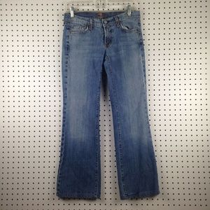7 For All Mankind 74AM Women's Bootcut Jeans Pants